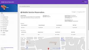 Aplikasi Mobile Reservation Honda AhaSS Raden Intan Lampung