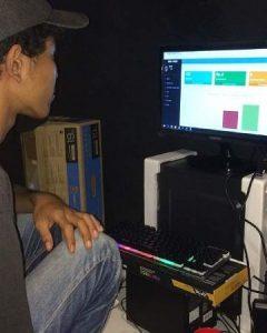 Pemsasangan Aplikasi Distro di BMG Store Bandar Lampung