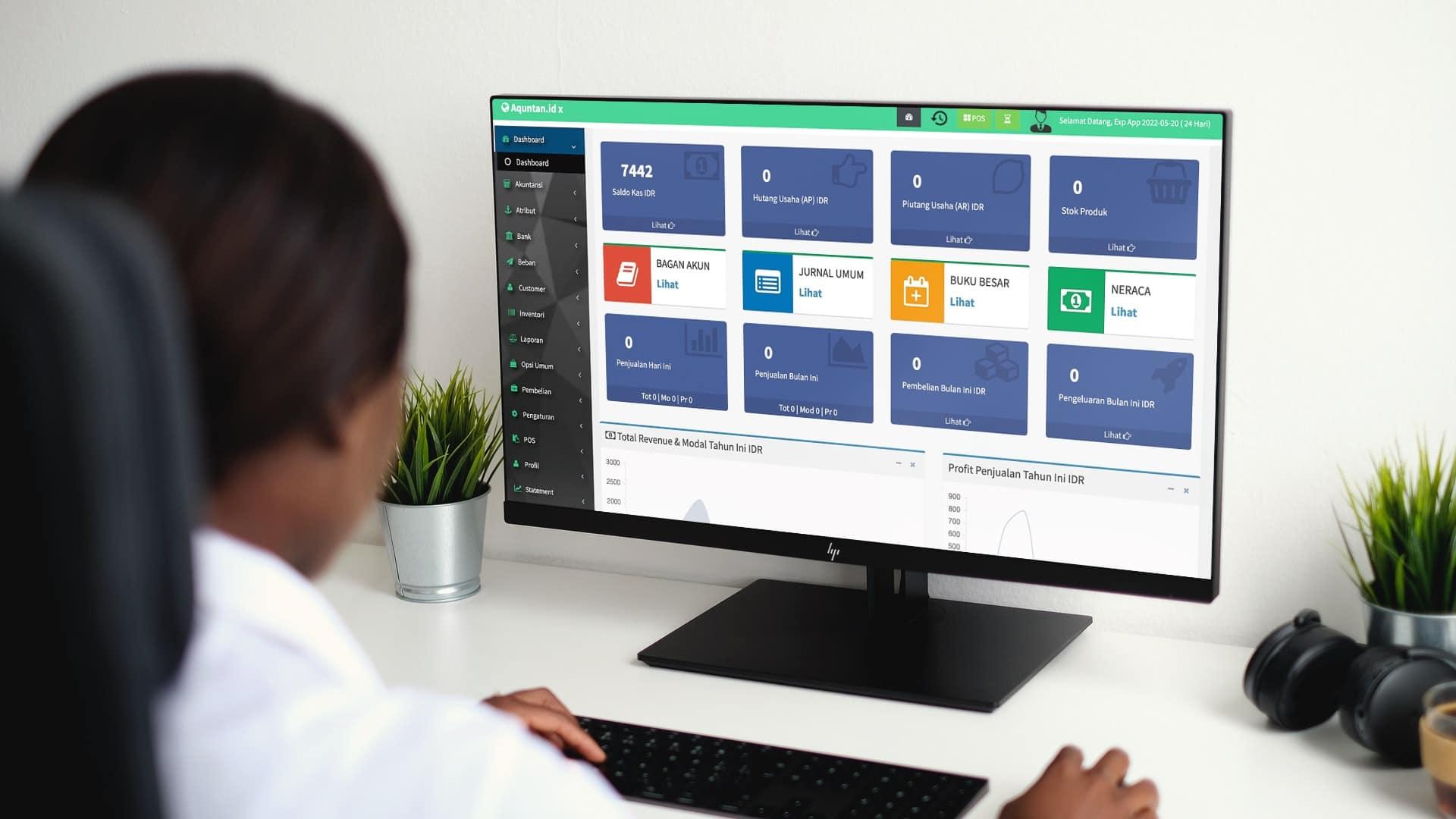 Aplikasi POS, Inventori dan Akuntansi Tanpa Batasan Fitur.